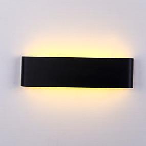 billige Væglamper-max 6w moderne minimalistisk LED aluminium lampe sengelamper badeværelse spejl lys direkte kreative gang