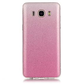 voordelige Galaxy Grand Prime Hoesjes / covers-hoesje Voor Samsung Galaxy J7 (2016) / J7 / J5 (2016) Patroon Achterkant Kleurgradatie Zacht TPU