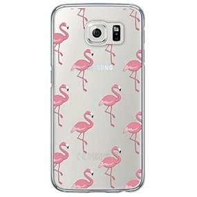 ieftine Accesorii Telefon Mobil-Maska Pentru Samsung Galaxy Samsung Galaxy S7 Edge Ultra subțire / Translucid Capac Spate Țiglă Moale TPU pentru S7 edge / S7 / S6 edge plus
