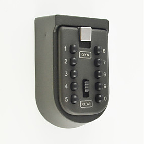 cheap Mechanical Locks-Key Box Zinc Alloy Password unlocking for Key