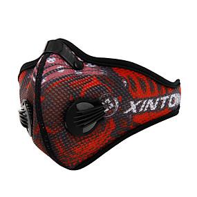 ieftine Accesorii Sport & Exterior-Mască sport Face Mask Bărbați Pentru femei Alpinism Fitness Ciclism / Bicicletă Bicicletă / Ciclism Impermeabil Rezistent la Vânt Respirabil 1 piesă Iarnă Clasic Modă Nailon Tactel Albastru piscin