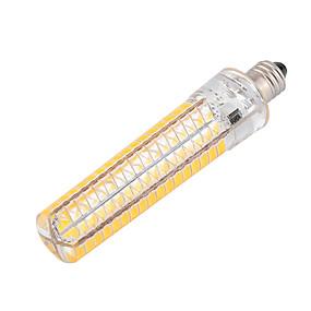 billiga LED-lampa-ywxlight® dimbar ba15d 10w 136led 5730smd varm vit cool vit silikon ledd majsljus AC 110-130v AC 220-240v