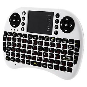 economico Tastiere-LITBest UKB-500 Senza filo / Wireless a 2,4 GHz tastiera ufficio Corto Silenzioso 92 pcs chiavi