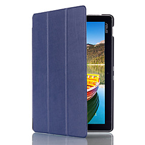 cheap Daily Deals-Case For Asus Asus ZenPad 10 Z300CL Full Body Cases / Tablet Cases Solid Colored Hard PU Leather
