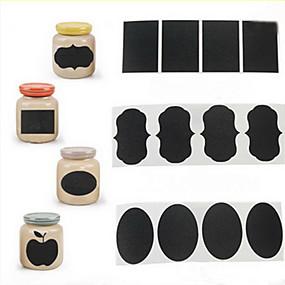 billige Hjem & Køkken-36pcs kridt pen tavle mærkat etiketter vinyl køkken jar indretning decals 5cm x 3,5 cm