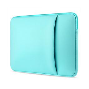 "baratos Gadgets para Notebook-11.6 ""13.3"" 14 ""15.6"" laptop mangas têxtil sacos de laptop cor sólida para macbook / superfície / hp / dell / samsung / sony etc"