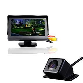 voordelige Auto DVR's-4.3T+630 720p Auto DVR 170 graden Wijde hoek 4.3 inch(es) Dash Cam met Waterbestendig Autorecorder