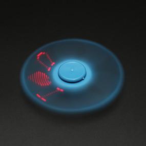 olcso Játékok & hobbi-Stresszoldó pörgettyűk Kézi Spinner A Killing Time Stressz és szorongás oldására Focus Toy LED Spinner Műanyag Klasszikus Darabok Fiú Lány Játékok Ajándék / LED fény