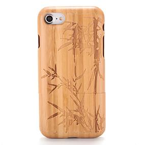 levne iPhone pouzdra-Carcasă Pro Apple iPhone 7 / iPhone 7 Plus Vytlačený vzor / Vzor Zadní kryt Textura dřeva / Strom Pevné Dřevěný pro iPhone 7 Plus / iPhone 7 / iPhone 6s Plus