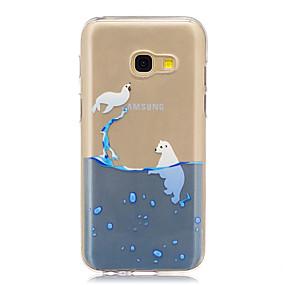 voordelige Galaxy A5(2016) Hoesjes / covers-hoesje Voor Samsung Galaxy A3 (2017) / A5 (2017) / A5(2016) Doorzichtig / Patroon Achterkant Cartoon Zacht TPU