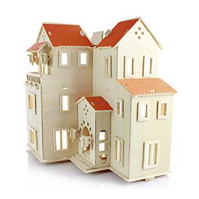 ieftine Jucării & Hobby-uri-Puzzle 3D Distracție Lemn Clasic Pentru copii Unisex Jucarii Cadou