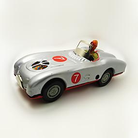 olcso Játékok & hobbi-Játékautók Felhúzós játék Versenyautó Autó Vas Fém 1 pcs Darabok Gyermek Játékok Ajándék