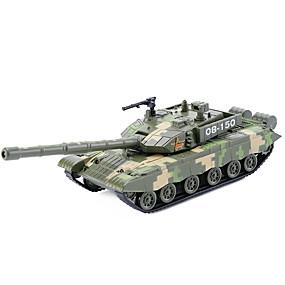 voordelige Gegoten & Speelgoedvoertuigen-Terugtrekvoertuigen Tank Tank Unisex Speeltjes Geschenk / Metaal