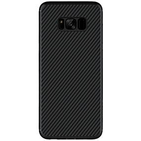halpa Galaxy S -sarjan kotelot / kuoret-Nillkin Etui Käyttötarkoitus Samsung Galaxy S8 Plus / S8 Ultraohut / Kuvio Takakuori Yhtenäinen Kova Hiilikuitu varten S8 Plus / S8 / S7 edge