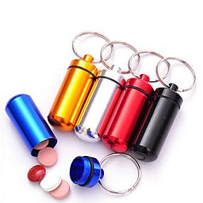 ieftine Stocare și Organizare-Carcasă Cutie Pilule Călătorie Impermeabil Portabil Ultra Ușor (UL) Mini Dimensiune pentruDepozitare Călătorie Accesorii Călătorie pentru
