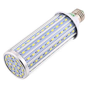 billige LED-kornpærer-ywxlight® e27 5730smd 45w 140led 4400-4500lm kjølig hvit høy lysstyrke LED-lampe ledet lys mais pære ac 85-265v