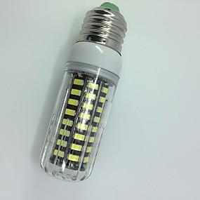 ieftine Becuri LED Corn-10 W Becuri LED Corn 1000 lm E27 T 72 LED-uri de margele SMD 5733 Intensitate Luminoasă Reglabilă Decorativ Alb Cald Alb 220-240 V / 1 bc