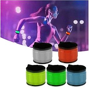 Недорогие LED гаджеты-спортивный шлем браслет браслет браслет браслет свет браслет светящийся повязку