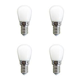 ieftine Becuri LED Glob-4 buc 2 W Bulb LED Glob 160 lm E14 26 LED-uri de margele SMD 2835 Alb Cald Alb 220-240 V