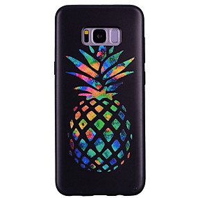 voordelige Galaxy S7 Hoesjes / covers-hoesje Voor Samsung Galaxy S8 Plus / S8 / S7 edge Patroon Achterkant Fruit Zacht TPU