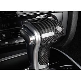 billige Car Shift Knobs-Til Bilen Vehicle Shift Knob Refit(Kulstoffiber)Til Audi 2014 2015 2016 2013 A4L
