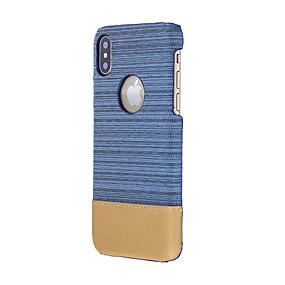 halpa iPhone 5S / SE kotelot-Etui Käyttötarkoitus Apple iPhone X / iPhone 8 Iskunkestävä Takakuori Yhtenäinen Pehmeä tekstiili varten iPhone X / iPhone 8 Plus / iPhone 8