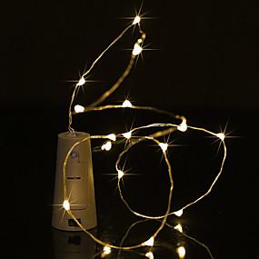 baratos Casa & Cozinha-Brelong 1 pc 0.5 m 5led garrafa de vinho luz de fio de cobre<5v luz branca luz branca quente luz azul luz verde luz roxa