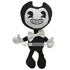 cheap Toy & Game-30cm Ghost Bendy and The Ink Machine Classic Theme Stuffed Animal Plush Toy Cute For Children Animals Girls' Toy Gift 1 pcs