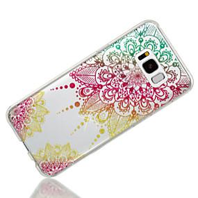 billige Samsung-tilbehør - nyheder-Etui Til Samsung Galaxy S8 Plus / S8 IMD / Mønster Bagcover Mandala-mønster / Glitterskin Blødt TPU for S8 Plus / S8 / S7 edge