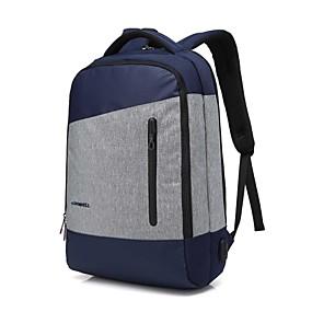 """tanie Gadżety do laptopów-Coolbell 15"""" Laptop Plecaki Nylon Solidne kolory dla biura biznesowego dla Colleages & Schools na podróż Wodoszczelność Odporne na wstrząsy z otworem na port USB do ładowania / słuchawki"""