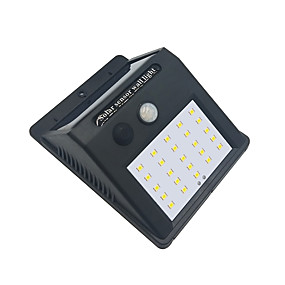 ieftine Becuri Solare LED-brelong 1 pc 4w senzor de corp uman 25w rezistent la apa inundații în aer liber lumina alba