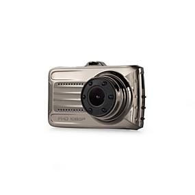 voordelige Auto DVR's-480p / 720p / 1080p Auto DVR 170 graden Wijde hoek 3 inch(es) Dash Cam met Nacht Zicht 6 infrarood LED's Autorecorder