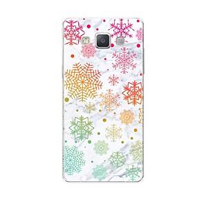 voordelige Galaxy A7(2016) Hoesjes / covers-hoesje Voor Samsung Galaxy A5 (2017) / A7 (2017) / A7(2016) Patroon Achterkant Tegel / Marmer Zacht TPU