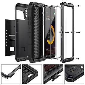 abordables Coques d'iPhone-cas pour apple iphone xr xs xs max eau / saleté / antichoc corps entier cas armure métal dur pour iphone x 8 8 plus 7 7plus 6s 6s plus se 5 5s