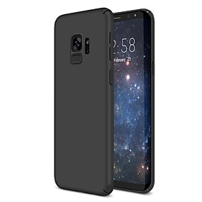 voordelige Galaxy S6 Edge Plus Hoesjes / covers-hoesje Voor Samsung Galaxy S9 / S9 Plus / S8 Plus Ultradun Achterkant Effen Hard Muovi