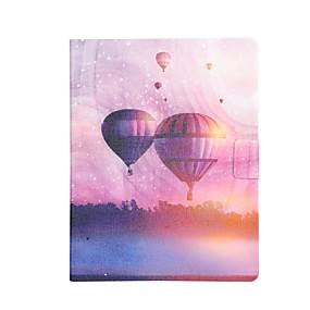 voordelige Galaxy Tab 3 10.1 Hoesjes / covers-hoesje Voor Samsung Galaxy Tab 4 10.1 / Tab 3 10.1 / Tab S3 9.7 Kaarthouder / Schokbestendig / met standaard Volledig hoesje Balloon Hard PU-nahka