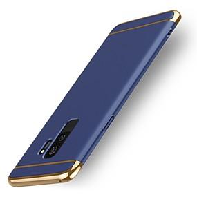 voordelige Galaxy S7 Hoesjes / covers-hoesje Voor Samsung Galaxy S9 / S9 Plus / S8 Plus Schokbestendig Achterkant Effen Hard Muovi