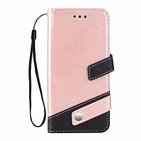 Χαμηλού Κόστους Θήκες / Καλύμματα Galaxy S Series-tok Για Samsung Galaxy S9 Plus Θήκη καρτών / με βάση στήριξης Πλήρης Θήκη Συμπαγές Χρώμα Σκληρή PU δέρμα για S9 Plus