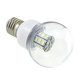 ieftine Becuri LED Glob-1 buc. 4w e27 bulb bulb 27 led 5730 dc / ac 12v - 24v cald / rece alb pentru nava rv