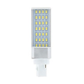 abordables Luces LED de Doble Pin-SENCART 1pc 9 W Luces LED de Doble Pin 750-850 lm G24 28 Cuentas LED SMD 5630 Decorativa Blanco Cálido Blanco 85-265 V