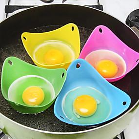ieftine Ustensile Bucătărie & Gadget-uri-Silicon Materiale ecologice Ustensile Ou Ustensile Înghețată Instrumente de desert Multifuncțional Ecologic Moale Instrumente pentru ustensile de bucătărie Tort Plăcintă pentru ou 2pcs