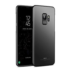 voordelige Galaxy S6 Edge Plus Hoesjes / covers-hoesje Voor Samsung Galaxy S9 / S9 Plus / S8 Plus Ultradun Achterkant Effen Kleur Hard PC