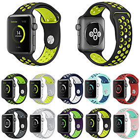 cheap Apple Watch Series 3/2/1-Watch Band for Apple Watch Series 4/3/2/1 Apple Sport Band Silicone Wrist Strap