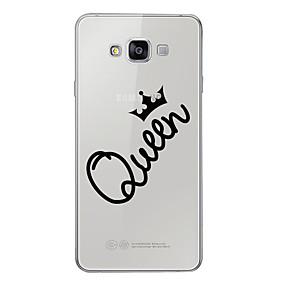 voordelige Galaxy A7(2016) Hoesjes / covers-hoesje Voor Samsung Galaxy A3 (2017) / A5 (2017) / A7 (2017) Patroon Achterkant Woord / tekst Zacht TPU