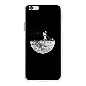 levne iPhone pouzdra-Carcasă Pro Apple iPhone X / iPhone 8 Plus Vzor Zadní kryt Komiks Měkké TPU pro iPhone X / iPhone 8 Plus / iPhone 8