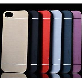 levne iPhone pouzdra-VORMOR Carcasă Pro Apple iPhone 7 / iPhone 6 Brnění Zadní kryt Jednobarevné Pevné Nerez pro iPhone X / iPhone 8 Plus / iPhone 8