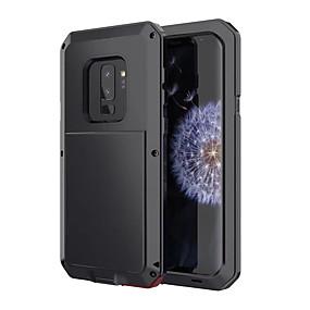 Χαμηλού Κόστους Θήκες / Καλύμματα Galaxy S Series-tok Για Samsung Galaxy S9 Ανθεκτική σε πτώσεις / Ανθεκτικό στο Νερό Πλήρης Θήκη Πανοπλία Σκληρή Μεταλλικό για S9