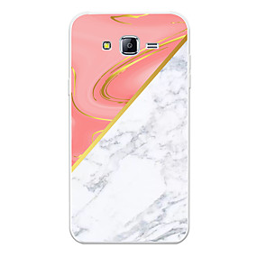 voordelige Galaxy J5 Hoesjes / covers-hoesje Voor Samsung Galaxy J7 (2017) / J7 (2016) / J7 Patroon Achterkant Marmer Zacht TPU