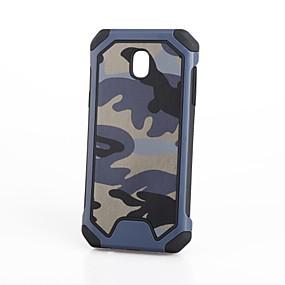 voordelige Galaxy J3 Hoesjes / covers-hoesje Voor Samsung Galaxy J7 Prime / J7 (2017) / J7 (2016) Schokbestendig Achterkant Camouflage Kleur Zacht Siliconen