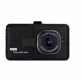 voordelige Auto DVR's-1080p Nacht Zicht Auto DVR 140 graden Wijde hoek 3 inch(es) Dash Cam met Bewegingsdetectie Neen Autorecorder